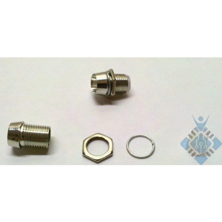 5mm Chrome Metal LED Bezel Holder
