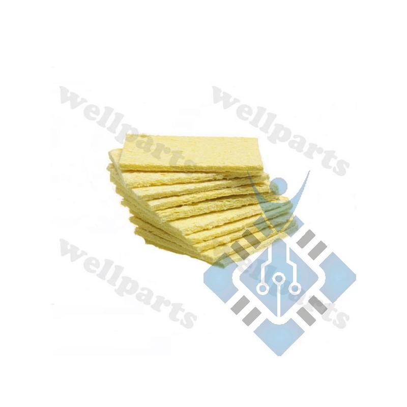Heat-resisting Compressed Sponge For Solder Cleaning