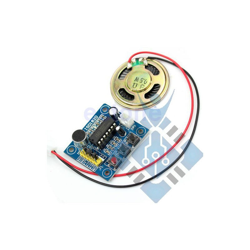 Voice Recording Recorder Module With Mic Sound Audio Loudspeaker