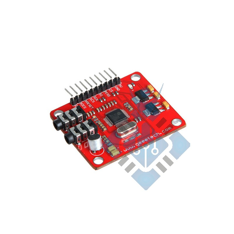 MP3 music breakout board VS1053 with SD card slot