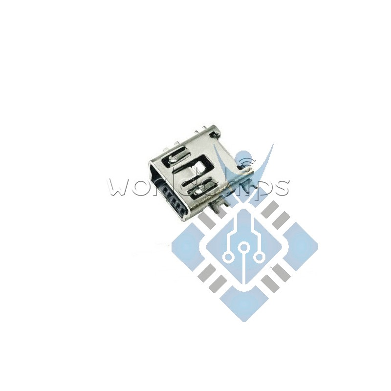 Mini USB Type B Female 5-Pin SMD