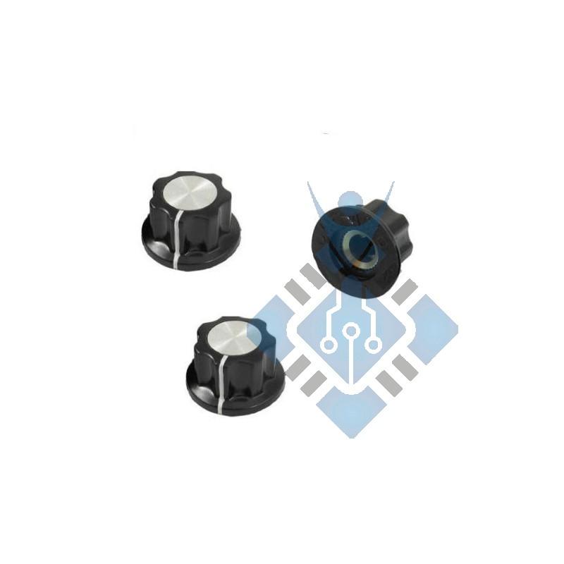 16mm, 6mm Potentiometer Rotary knob knop