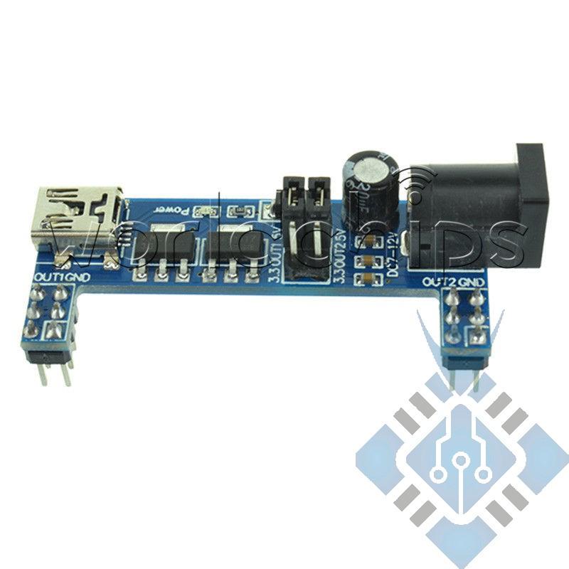 Breadboard power module 5/3.3 v