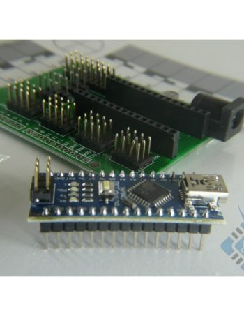 Nano 3.0 CH340 USB Driver + Terminal Adapter for Arduino