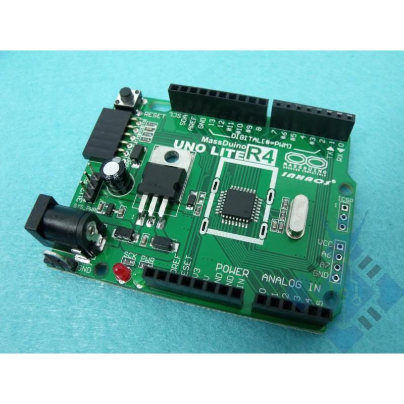 MassDuino UNO LITE R4 low cost 'Arduino Compatible'