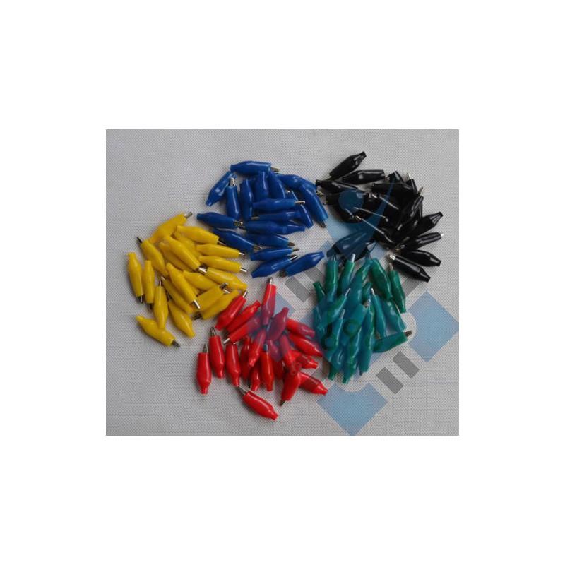 Alligator leads test clips, verschillende kleuren