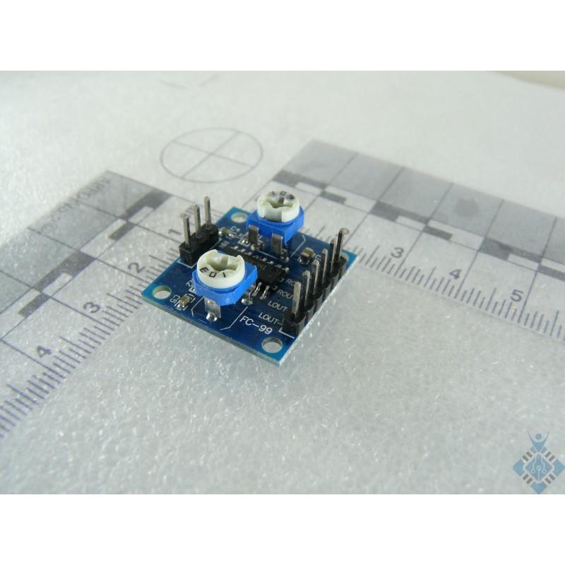 Digital Amplifier Board 5Wx2 Volume Adjustable D Class PAM-8406 PAM8406