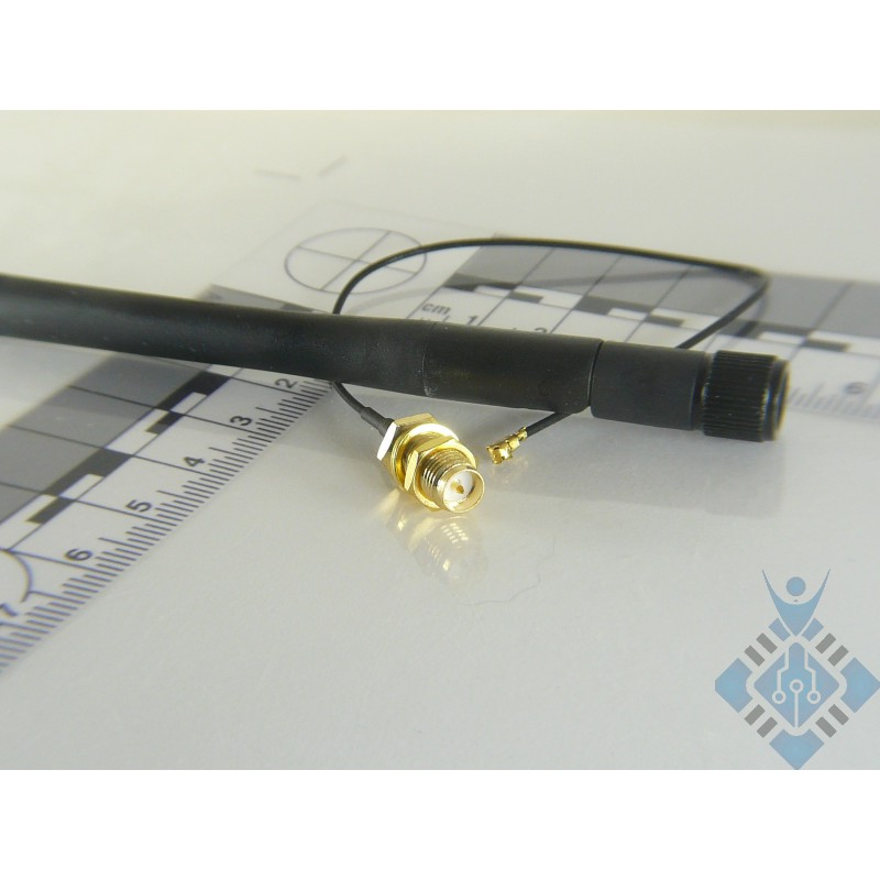 ESP8266 IPEX to SMA Cable and 3dBi Antenna Kits